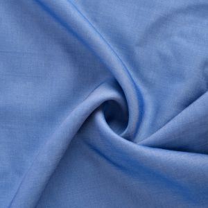 Viscose Chambray Fabric 4 Light Blue 147cm - £2.75 per metre