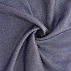 Viscose Chambray Fabric 7 Dark Blue 147cm - £2.75 per metre