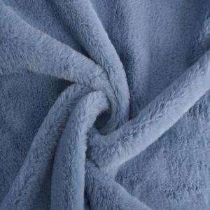 Bunny Luxe Fur Fabric 91 Powder Blue 160cm - £5.50 per metre