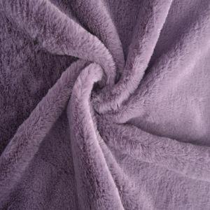 Bunny Luxe Fur Fabric 50 Grape 160cm - £5.50 per metre
