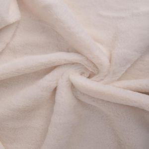 Bunny Luxe Fur Fabric 38 Ivory 160cm - £5.50 per metre