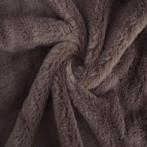 Bunny Luxe Fur Fabric 67 Mink 160cm - £5.50 per metre